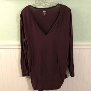 Old Navy Maternity long sleeve T